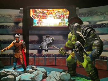 Thor and Hulk at Marvel Studios: Ten Years of Heroes Exhibition