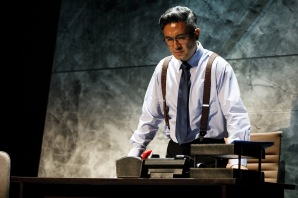 Adrian Pang reprises his role as Chester Teo in DBS SPARKS: The Musical (Photo Credit: DBS)