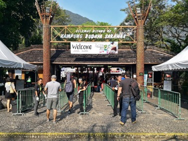 Rainforest World Music Festival 2018 Entrance