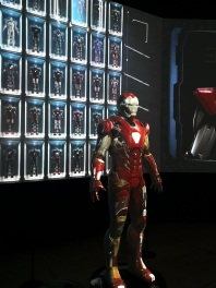 Iron Man at Marvel Studios: Ten Years of Heroes Exhibition