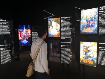 Marvel Studios: Ten Years of Heroes Exhibition at Art Science Museum