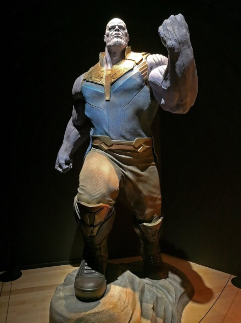Thanos at Marvel Studios: Ten Years of Heroes Exhibition