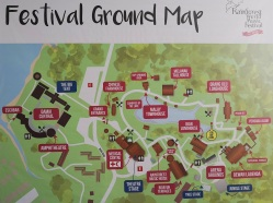 Rainforest World Music Festival 2018 Ground Map
