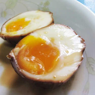 Onsen Egg recipe with molten centre