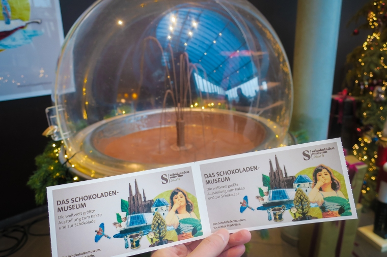 Chocolate Museum Cologne Ticket
