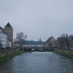 View overlooking Strasbourg, France