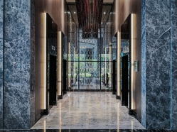 Carlton City Hotel Singapore Lift Lobby