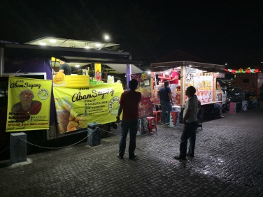 Street Food at Kuching Waterfront