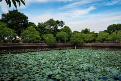Lake in Imperial Citadel Of Hue, Vietnam
