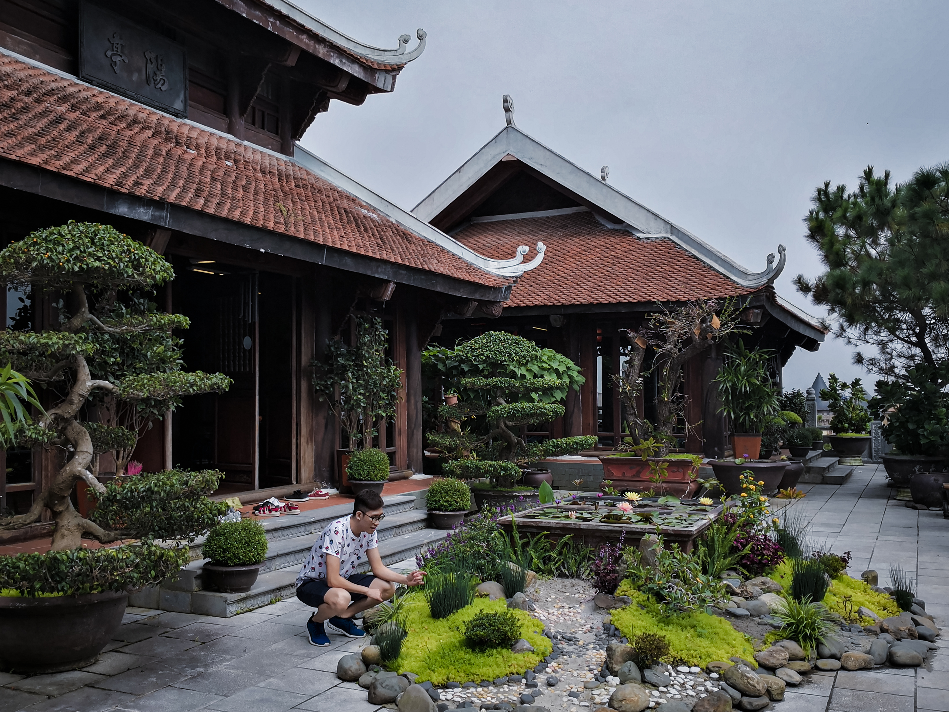 Zen Tea House at Ba Na Hills